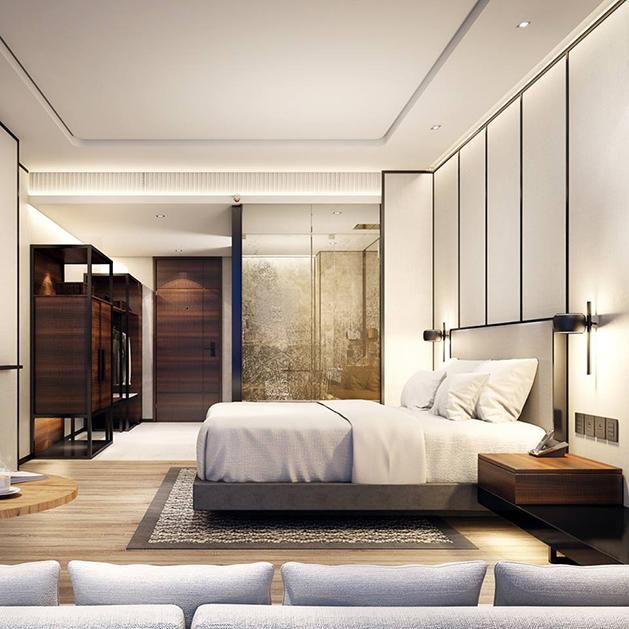 バンコク・マリオット・ホテル・ザ・スリウォンのデラックスルーム