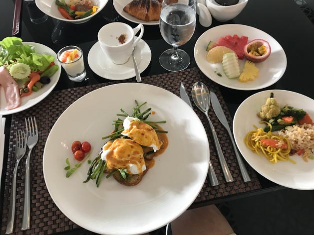 Luxury Thai Influenced Eggs Benedict