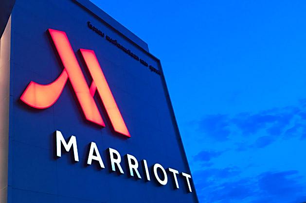 マリオットホテルのロゴ