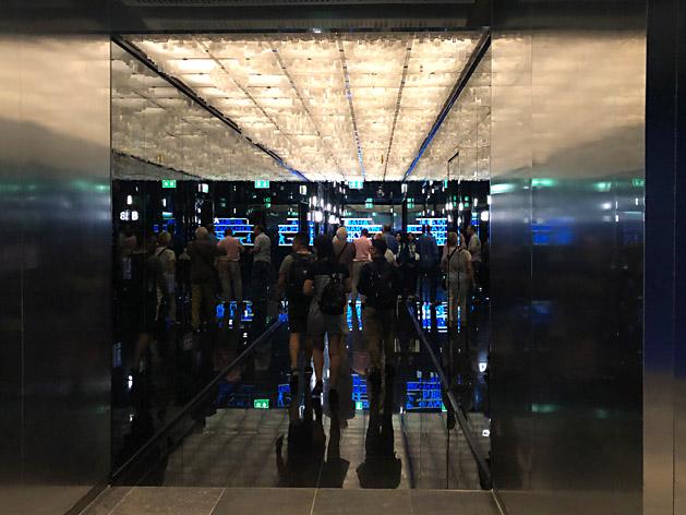 マハナコンスカイウォークのエレベーターホール