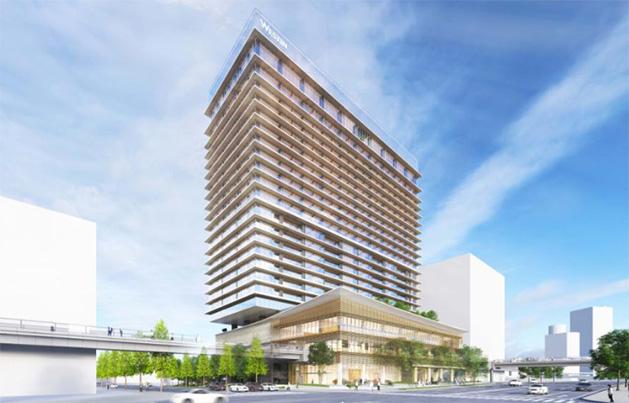 ウェスティンホテル横浜完成予想パース