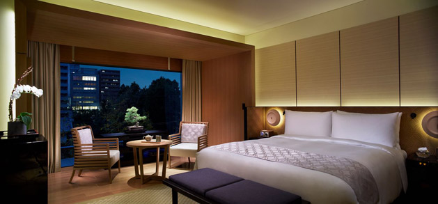 ザ・リッツ・カールトン京都の部屋