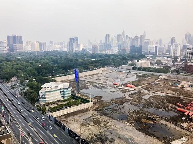 「One Bangkok」建設現場